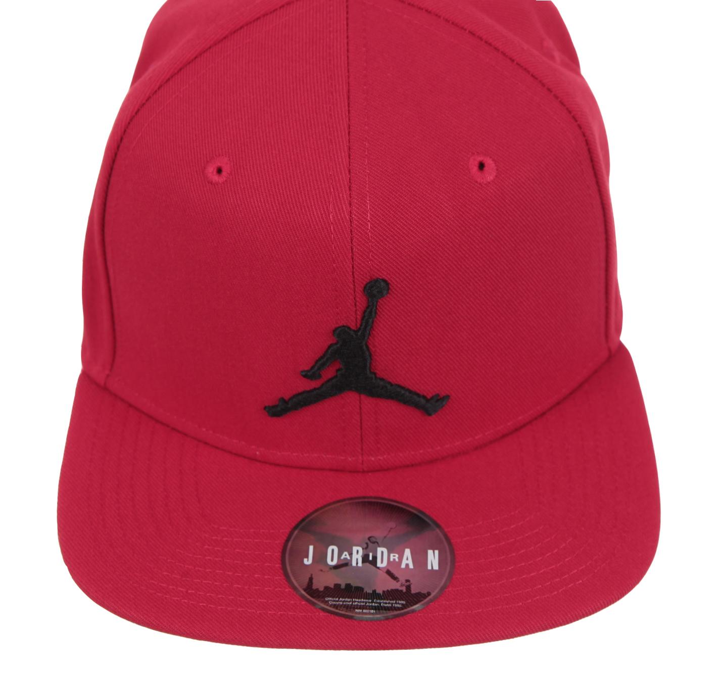 NikePro Jumpman Snapback Erkek Şapka Kırmızı