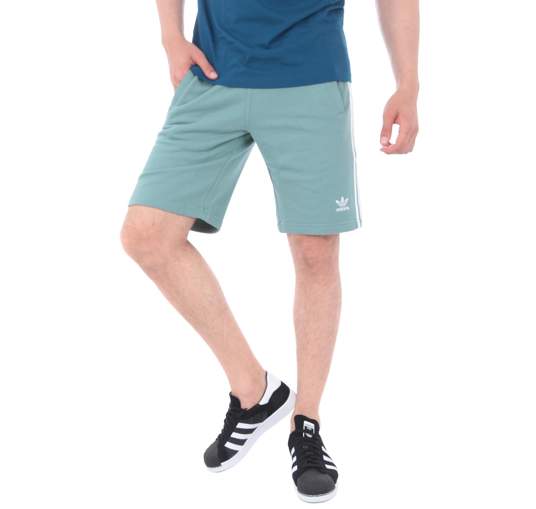 adidas 3-Strıpe Short Erkek Şort Ve Kapri Açık Mavi