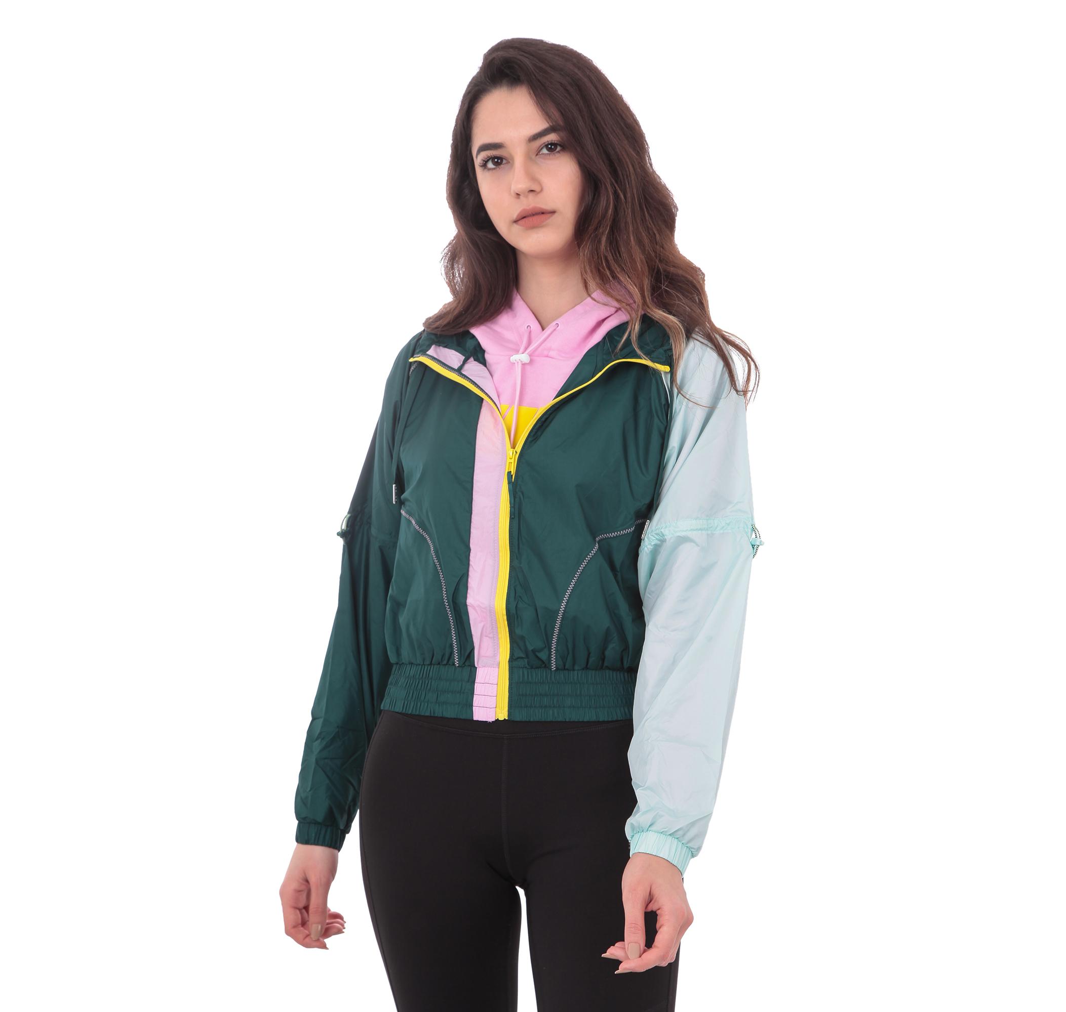 Cosmic Jacket Tz Kadın Yağmurluk-Rüzgarlık Yeşil