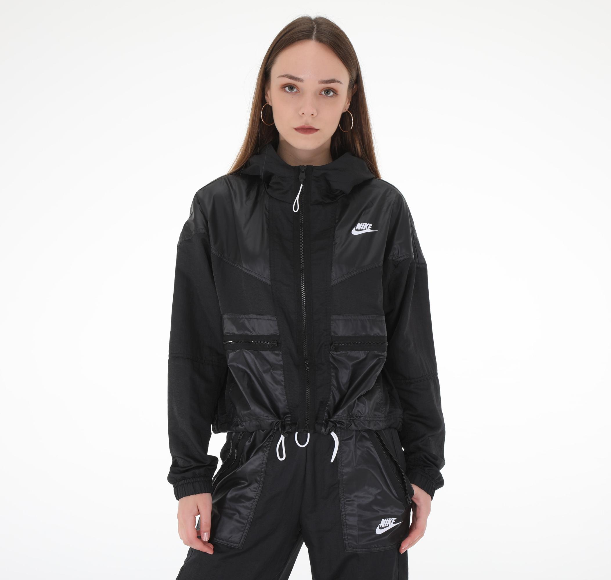 W Nsw Wr Jkt Cargo Rebel Kadın Yağmurluk-Rüzgarlık