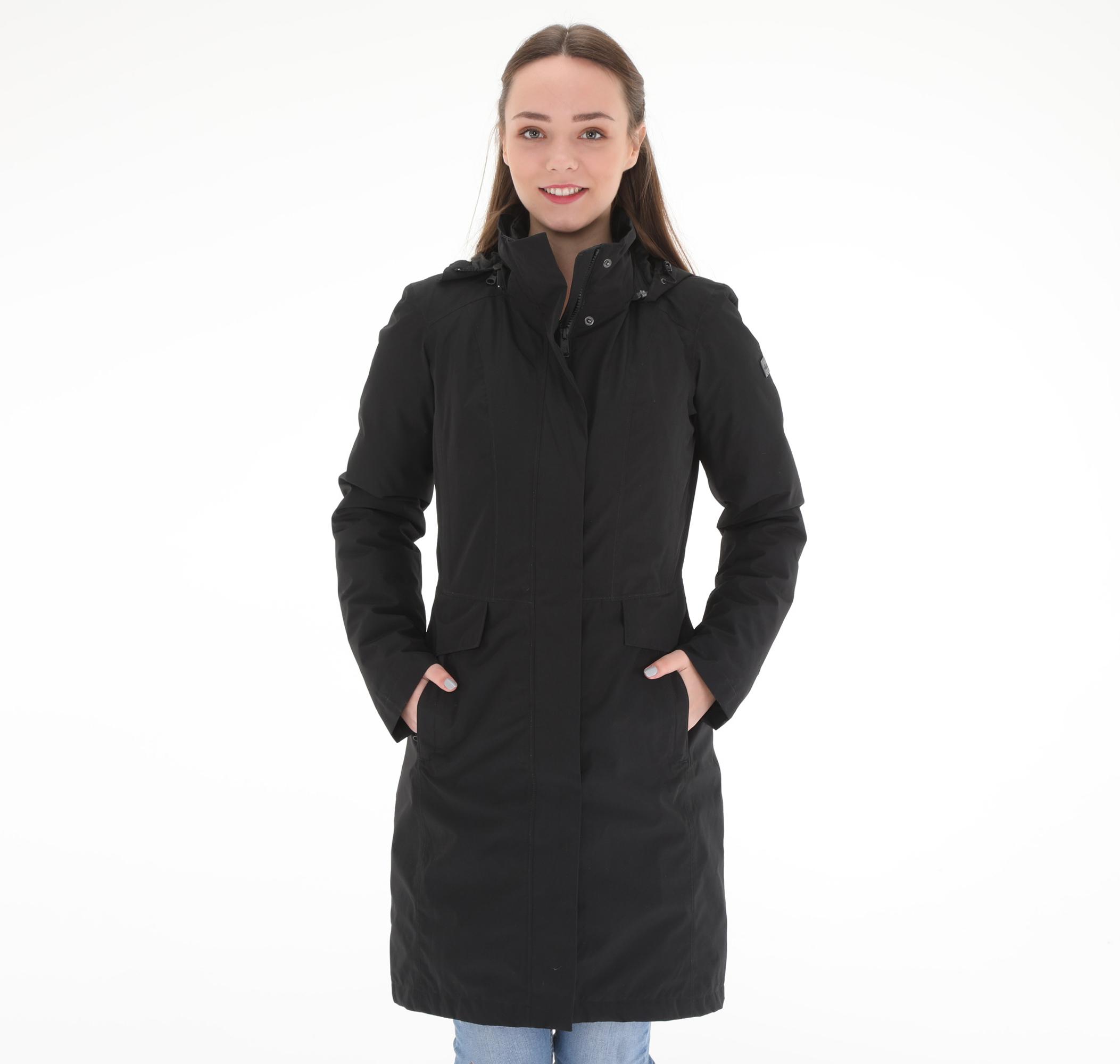 W Suzanne Trıclımate Jacket Kadın Mont Siyah