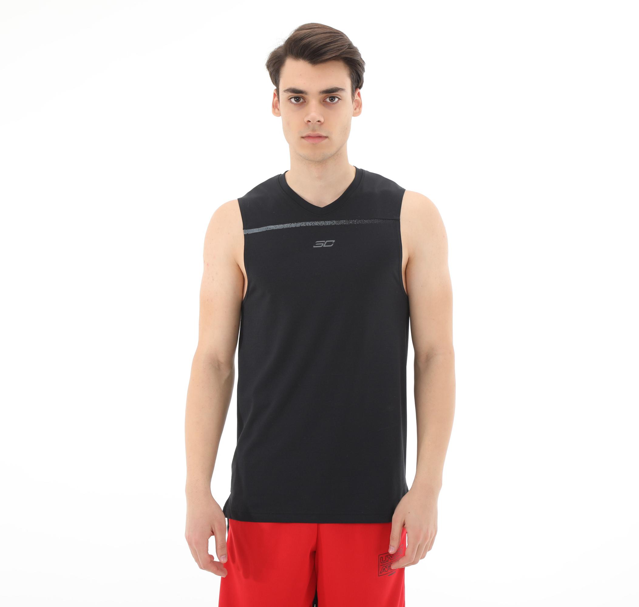 Sc30 Ultra Performance Tank Erkek T-Shirt Siyah